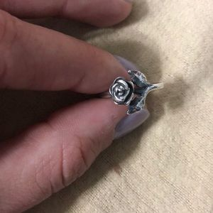 Size 5 James Avery rose ring